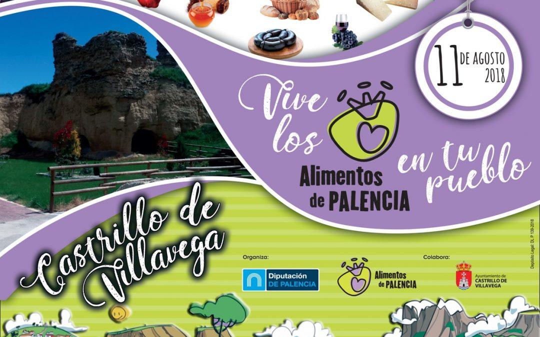 Agosto: Feria de los Alimentos en Castrillo de Villavega organizada por la Excma. Diputación de Palencia